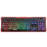 Marvo геймърска клавиатура Gaming Keyboard K629G - 104 keys, sound-reactive lighting