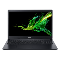 "Лаптоп, Acer Aspire 3, A317-32-P61D, Intel Pentium Silver N5030 Quad-Core (up to 3.10GHz, 4MB), 17.3"" HD+ (1600x900) CineCrystal, 0.3MP Cam&Mic, 4GB DDR4 (1 slot free), 256GB PCIe SSD, Intel UMA Graphics, Linux, Black"