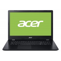 "Лаптоп, Acer Aspire 3, A317-32-P67K, Intel Pentium Silver N5030 Quad-Core (up to 3.10GHz, 4MB), 17.3"" FHD (1920x 1080) IPS CineCrystal, 0.3MP Cam&Mic, 8GB DDR4 (2*4GB), 256GB PCIe SSD, Intel UMA Graphics, Linux, Black"