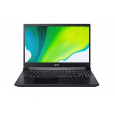 Лаптоп, Acer Aspire 7, A715-75G-593E, Intel Core i5-9300H(2.40Ghz up to 4.10Ghz, 8MB), ) IPS AG, HD Cam, 8 GB DDR4(1 slot free), 512GB PCIe , TX 1650 4GB GDDR6, 802.11ax, BT 5.0, BackLit