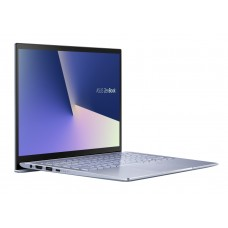 "Лаптоп, Asus Zenbook UM431DA-AM011T, AMD Ryzen 5 3500U(up to 3,7 Ghz,4MB),14"" FHD (1920x1080)60Hz, 8GB DDR4 on board,512GB PCIE G3X2 SSD, Radeon Vega 8 Graphics,illum. Kbd, Win 10 64 bit, Sleeve, Metal Silver Blue"