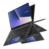 "Лаптоп, Asus Zenbook Flip UX463FLC-WB711T, Screen Pad,IntelCore i7-10510U( up to 4.9 GHz, 14"" FHD (1920x1080)Touch Glare, 16GB LPDDR3, PCIEG3x2 NVME 512G M.2 SSD, NVIDIA GeForce MX250 2GB,Win 10 64"