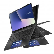 """Лаптоп, Asus Zenbook Flip UX463FLC-WB711T, Screen Pad,IntelCore i7-10510U( up to 4.9 GHz, 14"""" FHD (1920x1080)Touch Glare, 16GB LPDDR3, PCIEG3x2 NVME 512G M.2 SSD, NVIDIA GeForce MX250 2GB,Win 10 64"""