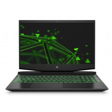"""Лаптоп, HP Gaming Pavilion 15-dk0011nu Black/Green, Core i5-9300H Quad(2.4Ghz,up to 4.1Ghz/8MB/4C), 15.6""""FHD"""