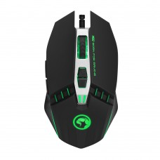 Marvo геймърска мишка Gaming Mouse M112 - 4000dpi, 7 buttons (programmable), 7 colors backlight - MARVO-M112