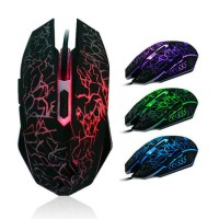 Оптична геймърска мишка DELUX M557
