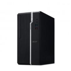 Настолен компютър, Acer Veriton S2660G, Intel Core i7-8700 (up to 4.60GHz, 12MB), 8GB DDR4 2666MHz, 256GB SSD & 1TB HDD, DVD+RW, Intel UHD Graphics,