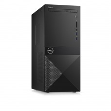 Настолен компютър, Dell Vostro 3671 MT, Intel Core i3-9100 (6MB Cache, up to 4.20GHz), 8GB DDR4 2400MHz, 1TB HDD, DVD+/-RW, Intel UHD 610, 802.11n, BT 4.0, Keyboard&Mouse, Linux, 3Y NBD