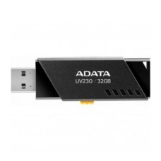 USB флаш памет ADATA UV230 32GB USB2.0 BLACK, AUV230-32G-RBL